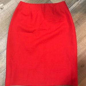 Incredible Ellen Tracy skirt 100% wool Sz 4